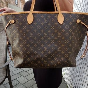 Louis Vuitton never full large used once!